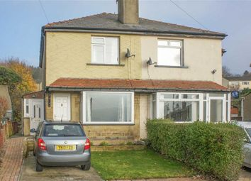 Thumbnail 2 bed semi-detached house for sale in Grange Crescent, Keighley, West Yorkshire