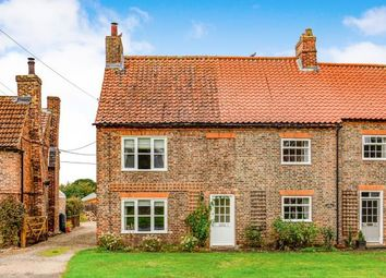 Thumbnail 3 bed end terrace house for sale in Ivy Cottages, Newby Wiske, Northallerton, North Yorkshire
