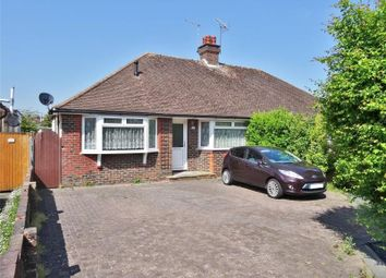 Thumbnail 3 bed semi-detached bungalow for sale in Cedar Avenue, Salvington, Worthing