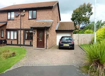 Thumbnail 2 bed semi-detached house for sale in Horsley Gardens, Holywell, Whitley Bay