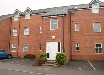 Thumbnail 2 bed flat for sale in Oak Crescent, Ashby De La Zouch