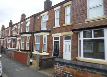 Thumbnail 3 bed terraced house to rent in Buxton Avenue, Crewe, Cheshire