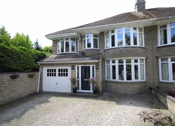 Thumbnail 4 bed semi-detached house for sale in Corby Avenue, Lakeside, Swindon