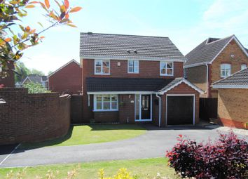 Thumbnail 4 bed detached house for sale in Queen Elizabeth Drive, Taw Hill, Swindon