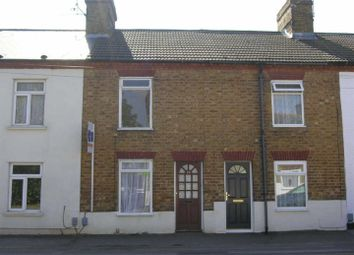 Thumbnail 2 bed terraced house to rent in Luton Road, Toddington, Dunstable