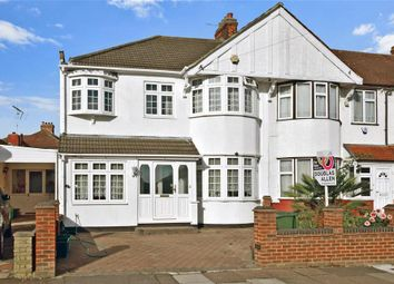 Thumbnail 4 bed end terrace house for sale in Belvedere Avenue, Clayhall, Ilford, Essex