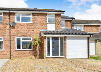 Thumbnail 4 bedroom semi-detached house for sale in Haddington Close, Bletchley, Milton Keynes