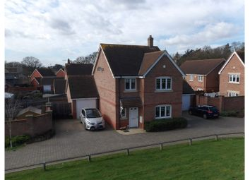 Thumbnail 4 bed detached house for sale in Carina Drive, Wokingham