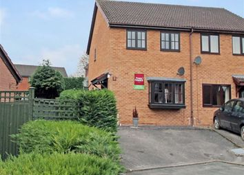 Thumbnail 2 bed semi-detached house for sale in Combs La Ville Close, Oswestry