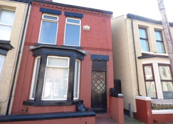 Thumbnail 3 bed terraced house to rent in Norton Street, Bootle