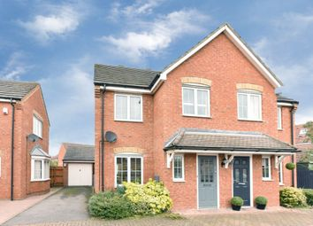 Thumbnail 3 bed semi-detached house for sale in Fox Close, Bedford, Bedfordshire