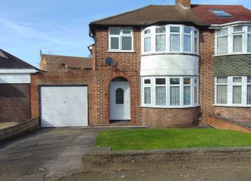 Thumbnail 3 bed semi-detached house to rent in Heath Way, Hodge Hill, Birmingham