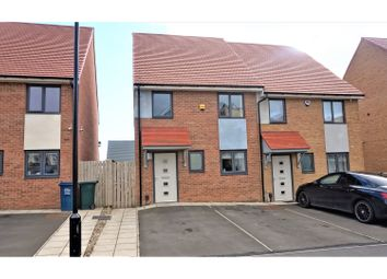 Thumbnail 3 bedroom semi-detached house for sale in Bellshiel Grove, Newcastle Upon Tyne