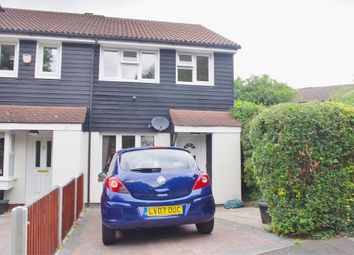 Thumbnail 3 bedroom end terrace house for sale in Doveney Close, St Pauls Cray, Orpington, Kent