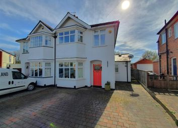 Thumbnail 3 bed semi-detached house for sale in The Rise, Rothley, Leicester