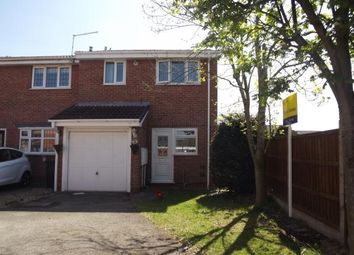 Thumbnail 2 bed end terrace house for sale in Pinecroft Court, Oakwood, Derby, Derbyshire