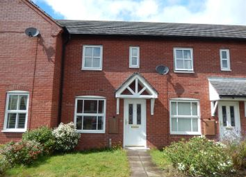 Thumbnail 2 bedroom terraced house to rent in Stall Meadow, Wem, Shrewsbury
