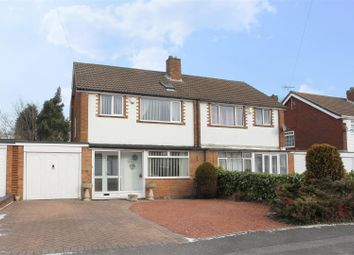Thumbnail 4 bed semi-detached house for sale in Whitehouse Way, Aldridge, Walsall