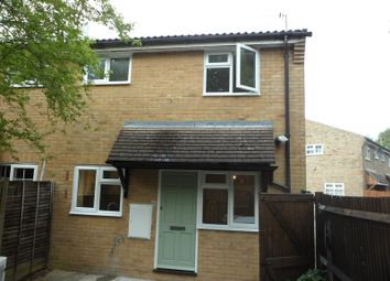 Thumbnail 1 bed semi-detached house to rent in Larchwood, Chineham, Basingstoke