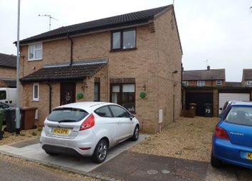 Thumbnail 2 bed semi-detached house for sale in Swale Avenue, Peterborough