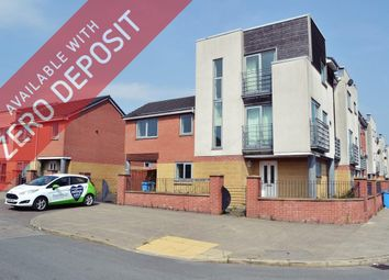 Thumbnail 4 bed terraced house to rent in Capella Drive, Manchester