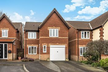 Thumbnail 3 bed detached house for sale in Hillbourne Close, Warminster, Obl