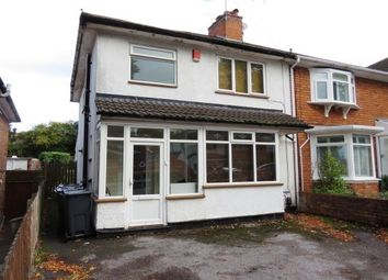 Thumbnail 3 bed property to rent in Lyndworth Road, Birmingham