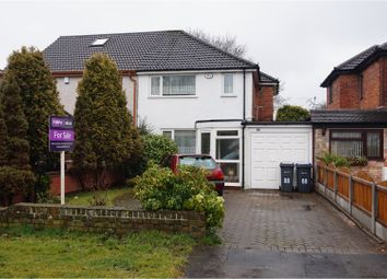 Thumbnail 3 bed semi-detached house for sale in Cliveden Avenue, Great Barr, Birmingham