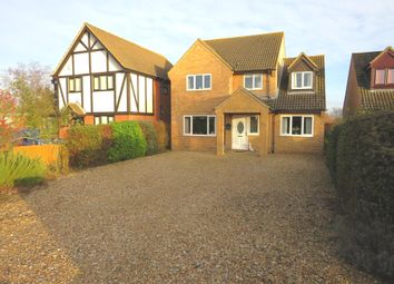 Thumbnail 4 bed detached house for sale in Ugg Mere Court Road, Ramsey Heights, Huntingdon