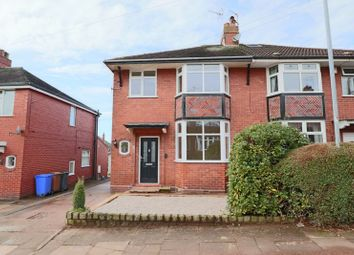 Thumbnail 3 bed semi-detached house for sale in Parkwood Avenue, Trentham, Stoke-On-Trent