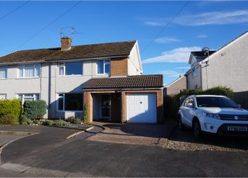 Thumbnail 3 bed semi-detached house for sale in Bassaleg, Newport