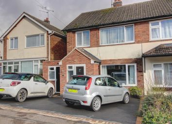 Thumbnail 4 bed semi-detached house for sale in Coltbeck Avenue, Narborough, Leicester