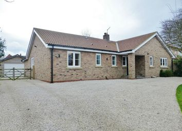 Thumbnail 3 bed detached bungalow for sale in North Lane, Wheldrake, York
