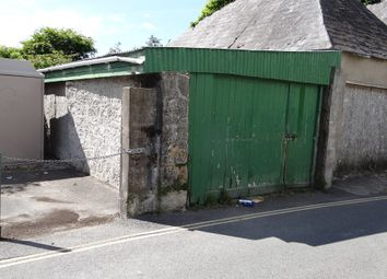 Thumbnail Parking/garage for sale in West Street, St Columb