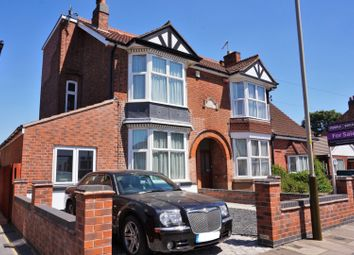 Thumbnail 5 bed semi-detached house for sale in Fairfax Road, Leicester