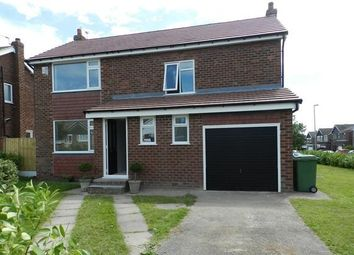 Thumbnail 4 bed detached house to rent in Churchfields, Croft, Warrington, Cheshire