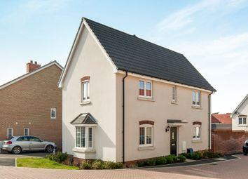 Thumbnail 3 bed detached house for sale in Boyton Hall Drive, Combs Lane, Stowmarket
