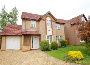 Thumbnail 3 bedroom detached house to rent in Westfield Way, Langtoft, Peterborough