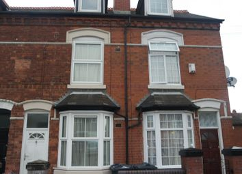 Thumbnail 3 bed end terrace house to rent in Rookery Road, Handsworth, Birmingham
