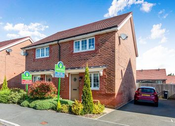 Thumbnail 2 bed terraced house for sale in Meadow Rise, Newton Abbot