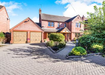 Thumbnail 4 bedroom detached house for sale in Chapel Lane, Barnacle, Coventry