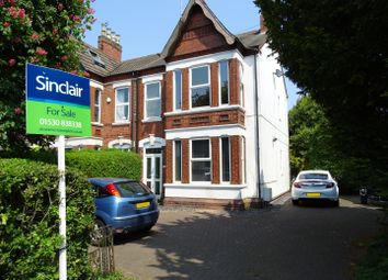 Thumbnail 3 bed semi-detached house for sale in London Road, Coalville, Leicestershire