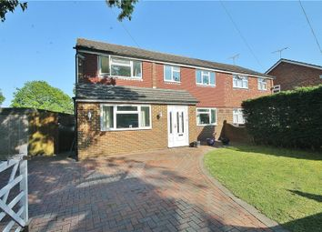 Thumbnail 4 bed semi-detached house for sale in Hithermoor Road, Stanwell, Middx