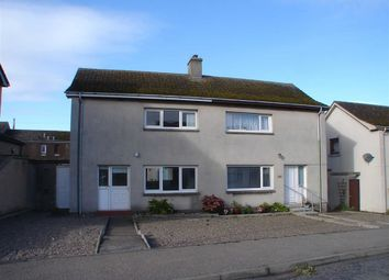 Thumbnail 2 bed semi-detached house for sale in Moray Street, Hopeman, Moray