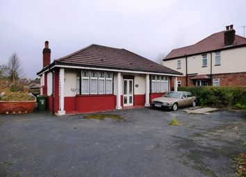 Thumbnail 2 bed bungalow for sale in Chelford Road, Macclesfield, Cheshire