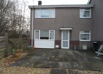 Thumbnail 2 bed semi-detached house for sale in Min Y Rhos, Ystradgynlais, Swansea