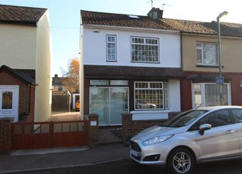 Thumbnail 4 bedroom end terrace house for sale in Court Lodge Road, Gillingham, Kent.
