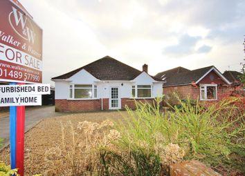 Thumbnail 4 bedroom detached bungalow for sale in Barnes Lane, Sarisbury Green, Southampton
