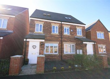 Thumbnail 3 bed semi-detached house for sale in Sandringham Way, Newfield, Chester Le Street, County Durham