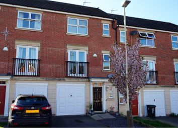 Thumbnail 3 bedroom town house for sale in Eyebrook Close, Leicester